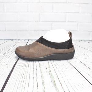 Clarks Cloud Steppers Bronze Lightweight Shoes 7.5